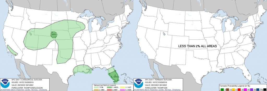 3-29-16 SPC Outlook